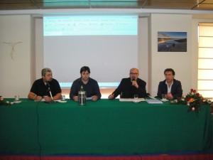 Luigi Dimarco - Segretario, Peppe Occhipinti - Tesoriere, Gaetano Monsu' - Presidente, Enzo Iacono - Vicepresidente