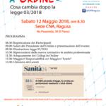 12 Maggio – Evento ECM – Premiazione 25° anno iscrizione.