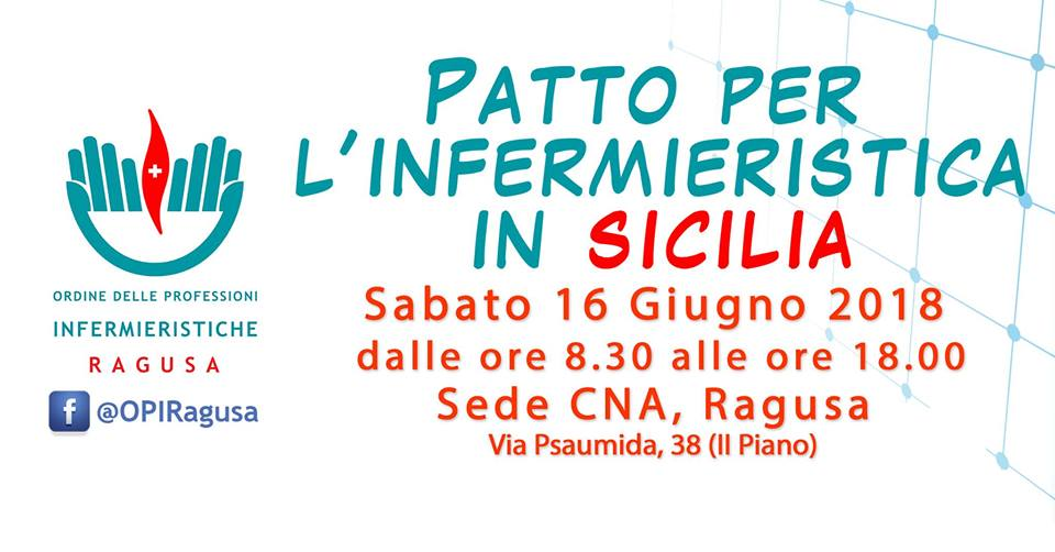 Patto per l'infermieristica in Sicilia – Evento ECM gratuito